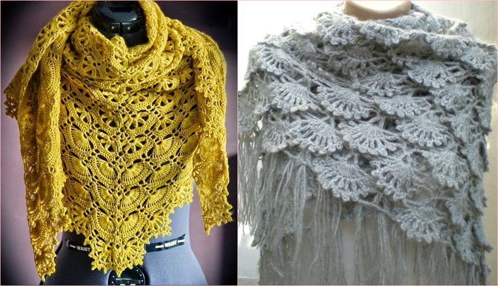 62710cf01 Modelos Maravillosos Bufandas en Crochet