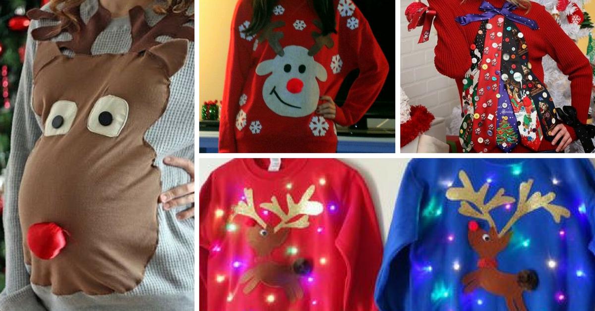 Como Decorar Una Camiseta De Navidad.Ideas Para Crear Tus Camisetas De Navidad