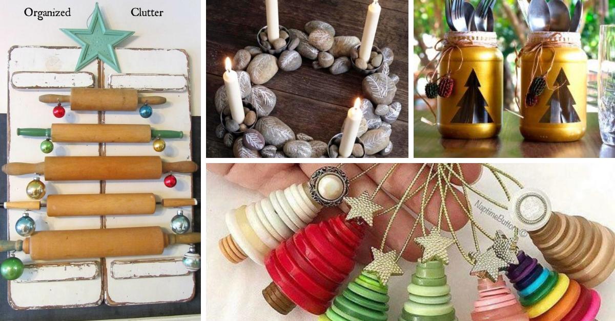 Decoraci n de navidad hecho con reciclaje for Ideas decoracion reciclaje