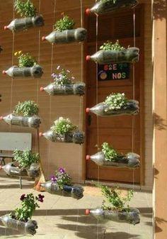 Originales ideas de jardines verticales caseros - Ideas originales jardin ...